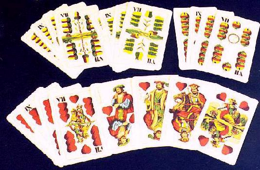Renaissance playing cards