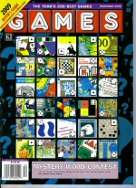 Games cover for December 2008