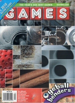 Games cover for December 2009