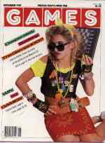 Games cover for November 1985